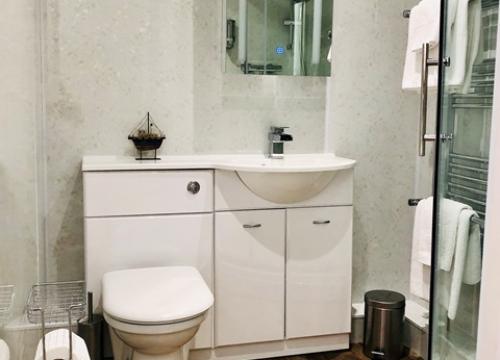 Room 1 new bathroom